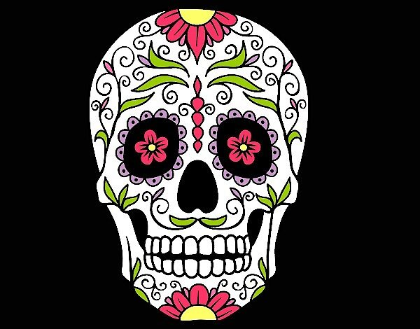 Mexican Skull Design by LoLxLeGiT