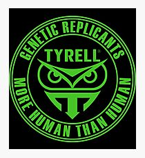 TYRELL CORPORATION - BLADE RUNNER (GREEN) Photographic Print