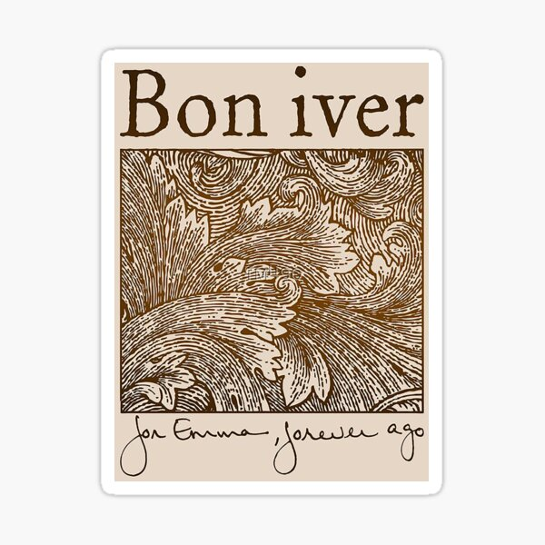 Bon Iver - For Emma, Forever Ago Sticker