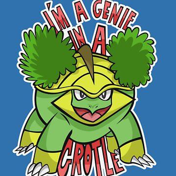 PokéPun - 'Genie In a Grotle' by lexxclark