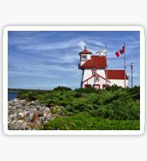 Fort Point Lighthouse - Nova Scotia Sticker
