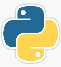 Python Minimal Sticker