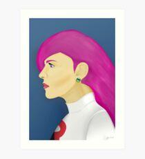 Painting Series - Jessie  Art Print