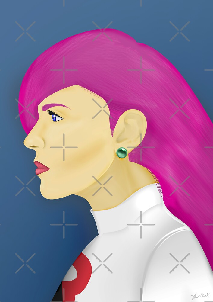 Painting Series - Jessie  by Alex Clark