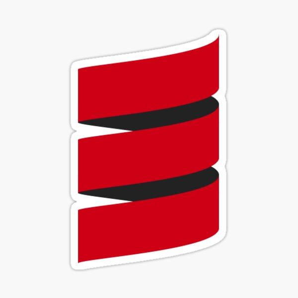 Scala minimal Sticker
