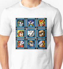 Megaman 2 Boss Select Unisex T-Shirt