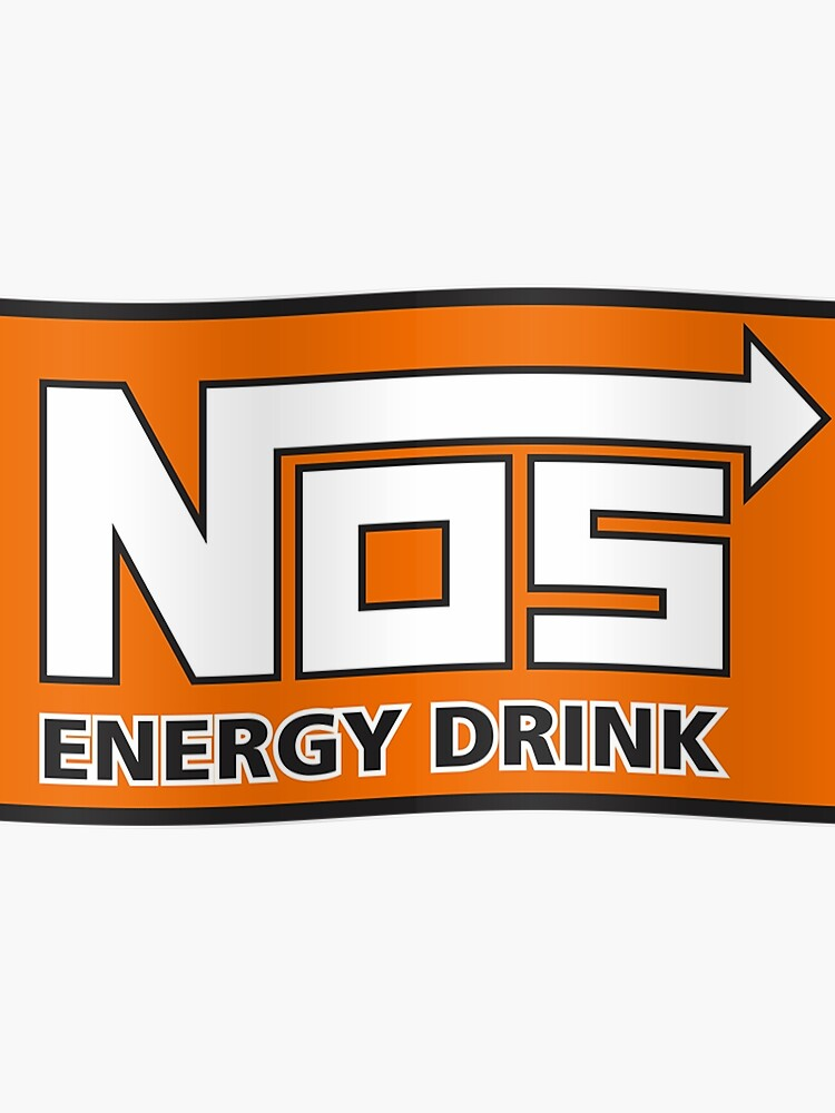 Nos Energy Drink Logo (Nitrous Oxide Systems) | Poster