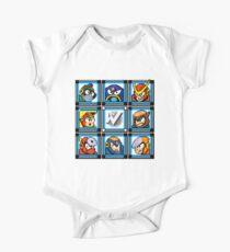 Megaman 2 Boss Select Kids Clothes
