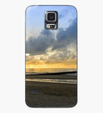 Beach in Domburg before sunset Case/Skin for Samsung Galaxy