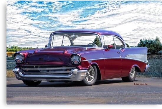 1957 Chevrolet Bel Air 'Wine Country' by DaveKoontz