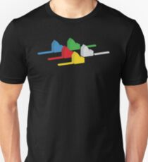 the houses (settlements) of catan T-Shirt