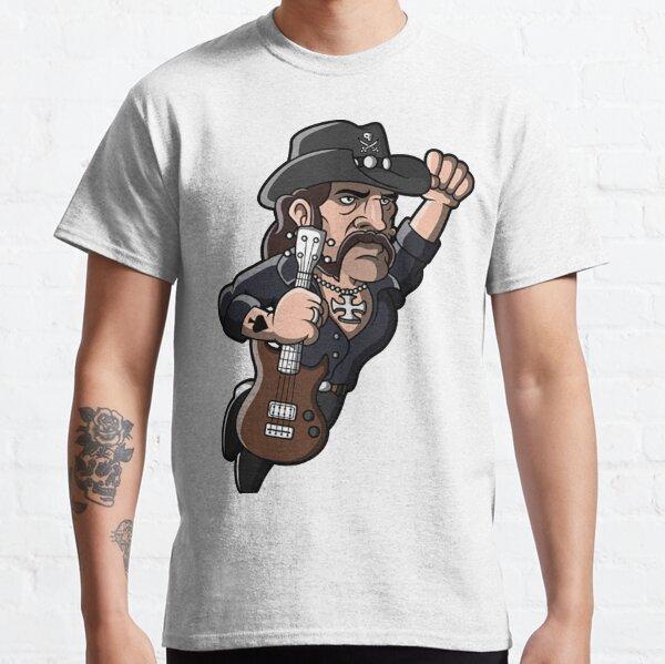 Motorhead /'Ace Of Spades B/&W Tattoo/' T-Shirt Noir