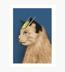 Painting Series - Meowth Art Print