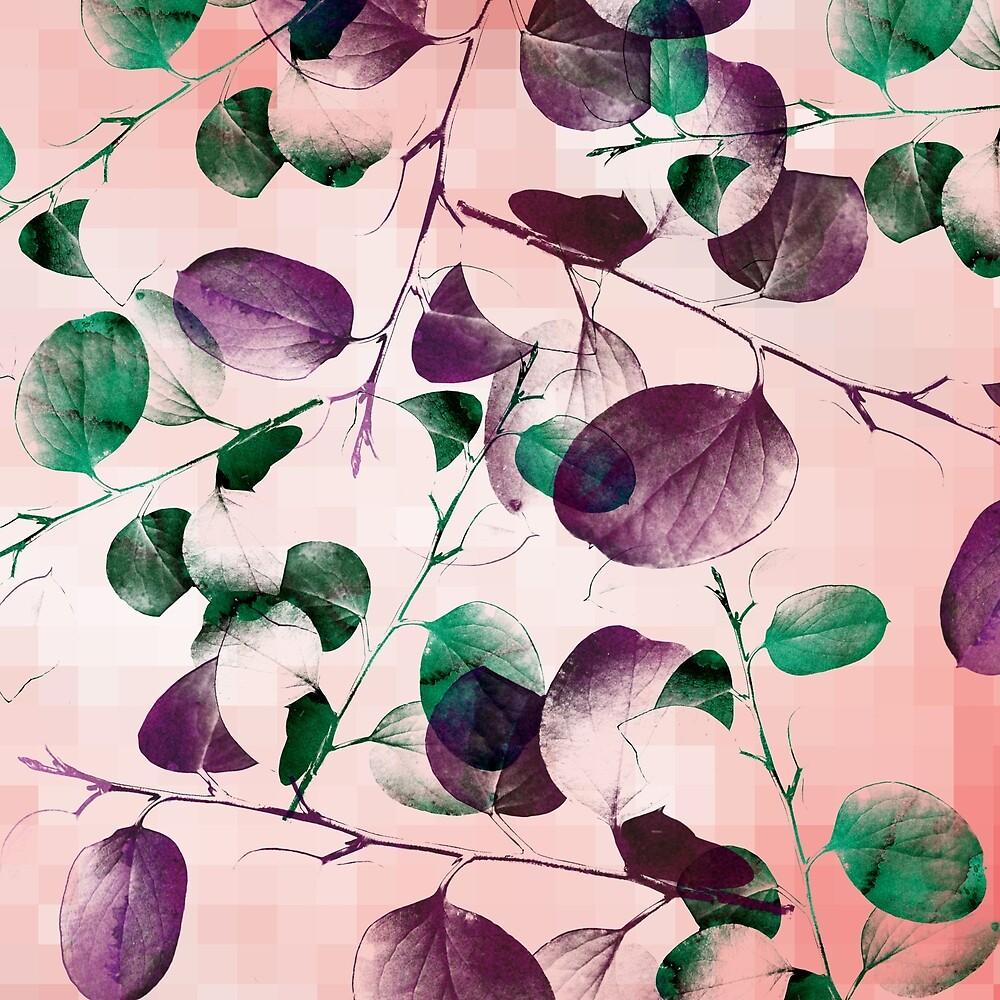 Spiral Eucalyptus Branches by danaestudio