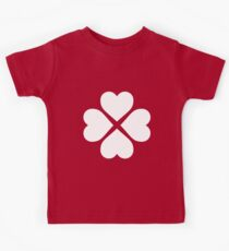 White Heart Flower Kids Clothes