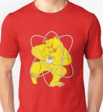 Bear Splitting Atom Zheleznogorsk Flag T-Shirt