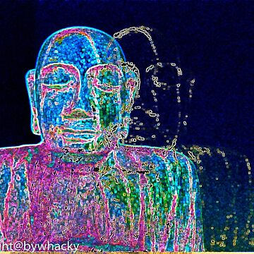 Neon Budha  by bywhacky