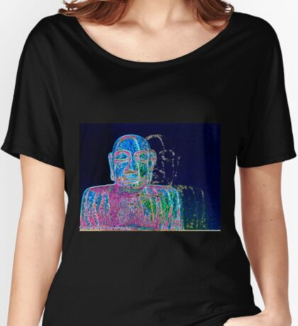 Neon Budha  Women's Relaxed Fit T-Shirt