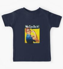We Can Do It - Rosie the Riveter Kids Tee