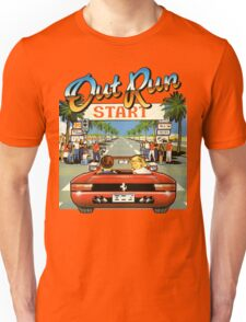 Out Run 1986 Sega Ferrari 3D Game T-shirt