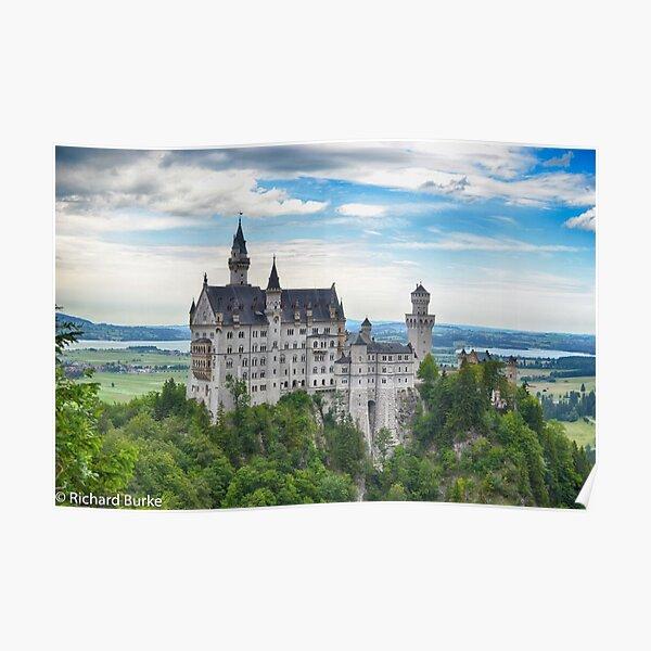 Neuschwanstein Castle Bavaria Poster