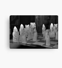 Lewis Chessmen Canvas Print