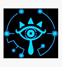 Sheikah Slate - Legend of Zelda - Breath of the Wild Photographic Print