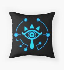 Sheikah Slate - Legend of Zelda - Breath of the Wild Throw Pillow