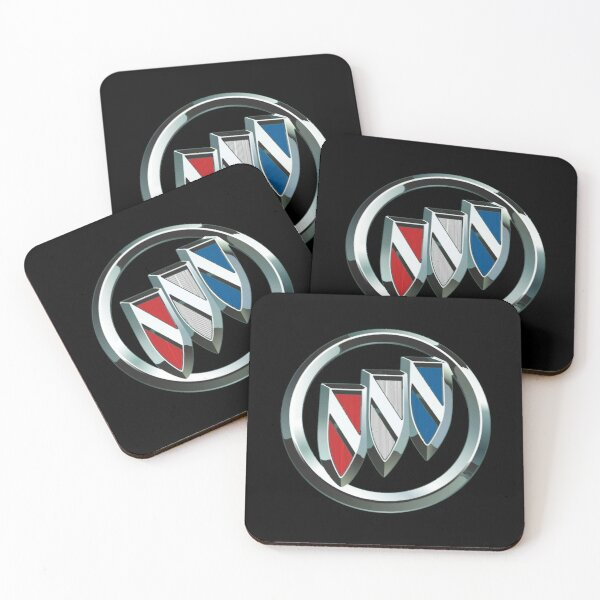 Best to Buy BUICK Coasters (Set of 4)