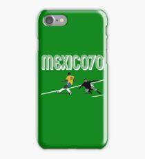 BRAZIL VS URUGUAY - WORLD CUP MEXICO 1970 iPhone Case/Skin