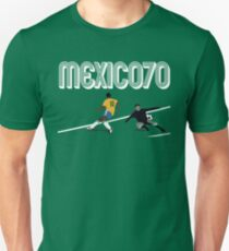BRAZIL VS URUGUAY - WORLD CUP MEXICO 1970 Unisex T-Shirt