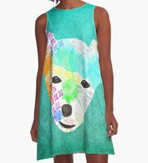 Rainbow Chihuahua A-Line Dress