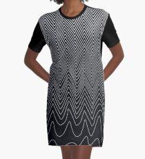 Good Vibrations Graphic T-Shirt Dress