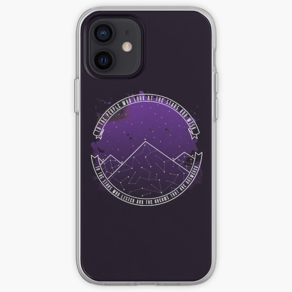 Look At The Stars And Wish | Night Court iPhone Soft Case