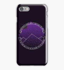 Look At The Stars And Wish | Night Court iPhone Case/Skin