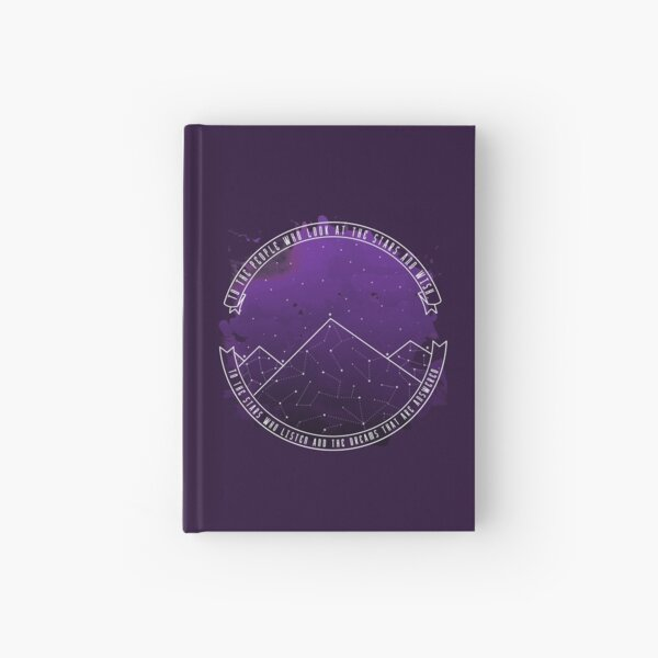 Look At The Stars And Wish | Night Court Hardcover Journal