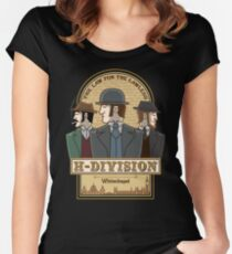 H-Division  Women's Fitted Scoop T-Shirt