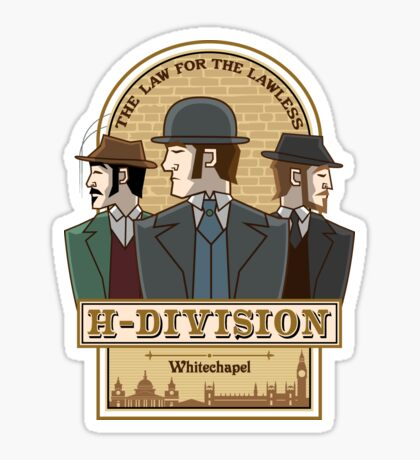 H-Division  Sticker
