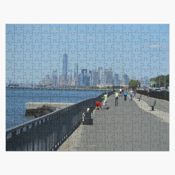 View of the Manhattan from the west coast of Brooklyn Jigsaw Puzzle