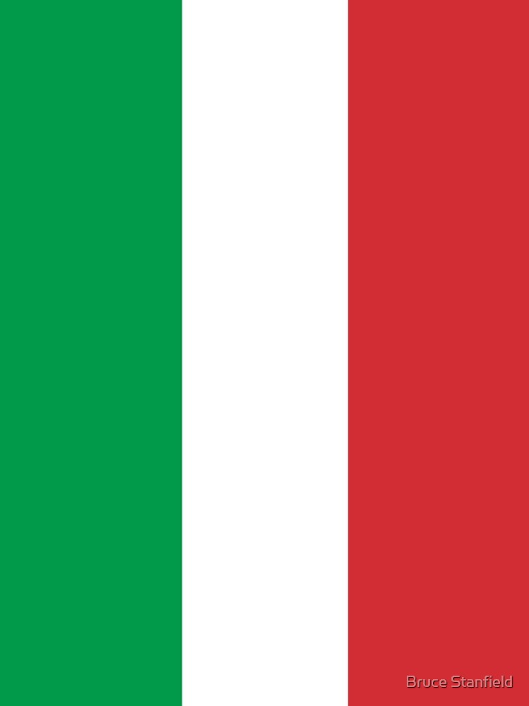 Flag of Italy - High quality authentic version by Bruiserstang