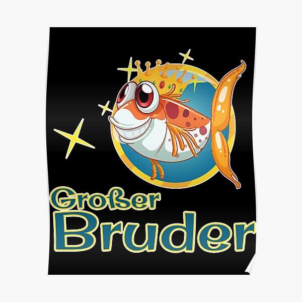 Großer Bruder - Brainbubbles Poster