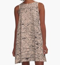 Bricks, bricks, bricks! A-Line Dress