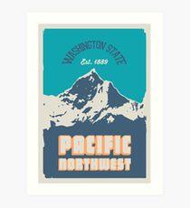 Pacific Northwest. Art Print