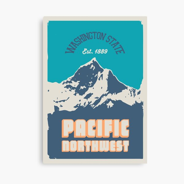 Pacific Northwest. Canvas Print