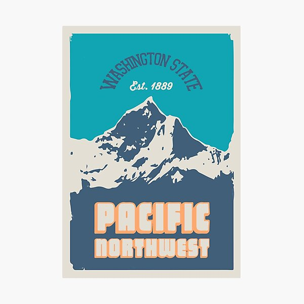 Pacific Northwest. Photographic Print