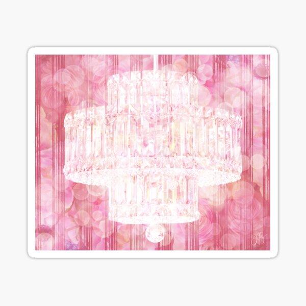 Chandelier I - Pink Sticker