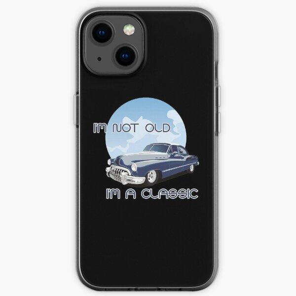 Ich bin nicht alt, ich bin ein Klassiker - Brainbubbles iPhone Flexible Hülle