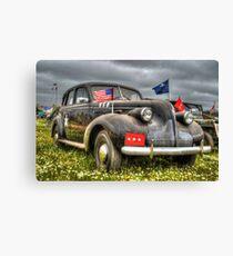 Classic Military Staff Car Canvas Print