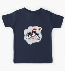 Winter Birds Christmas Wish - Cute Tee Kids Clothes