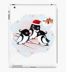 Winter Birds Christmas Wish - Cute Tee iPad Case/Skin